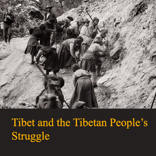Tibet and the Tibetan People's Struggle