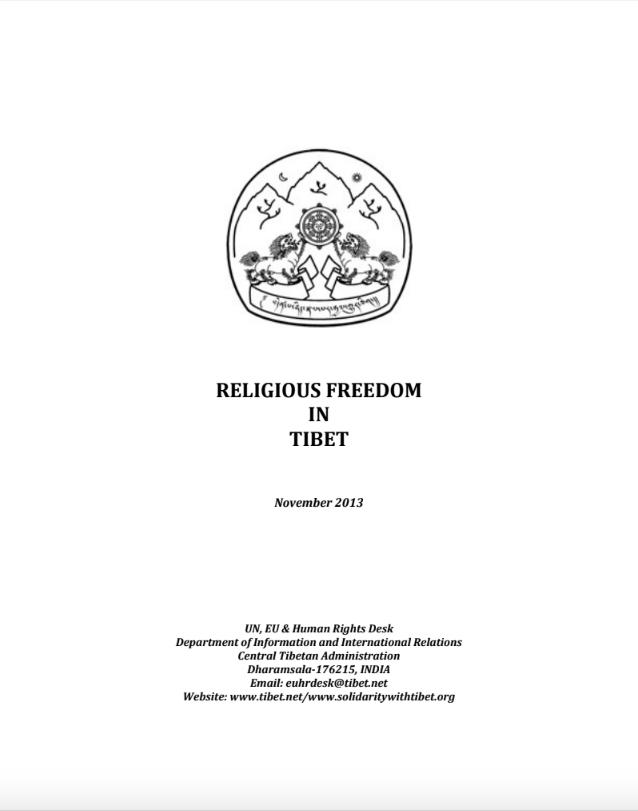 Religious Freedom in Tibet