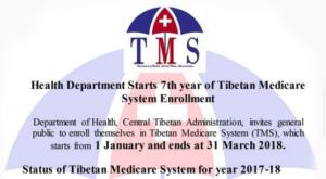 Tibetan Medicare System Enrollment