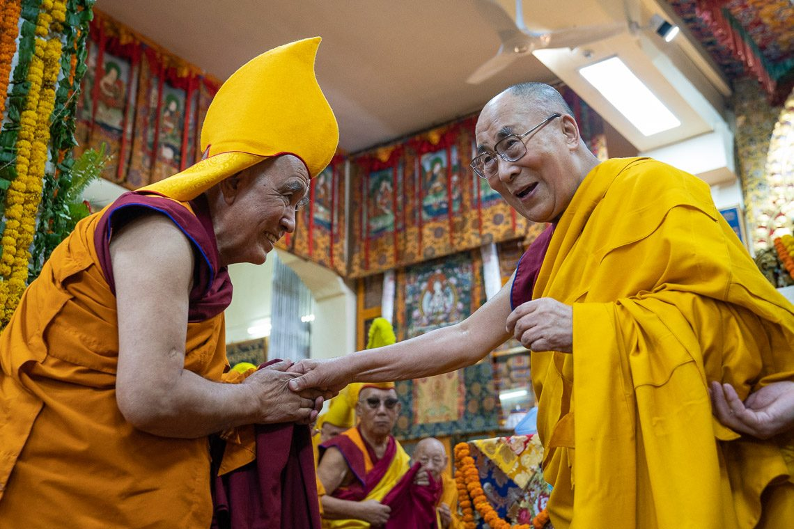 "I Assure You I would live for 100 years"": His Holiness the Dalai"