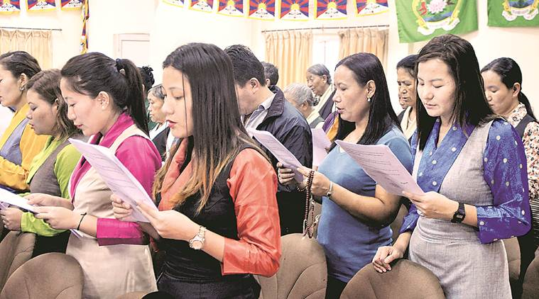 tibetan refugees down from 1 5 lakh to 85 000 in 7 years central